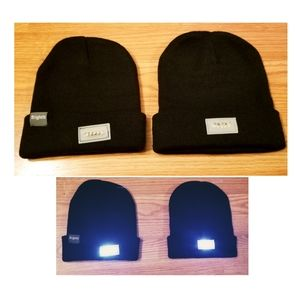 BRIGHTFIT Beanies (2) - Like new/Never worn